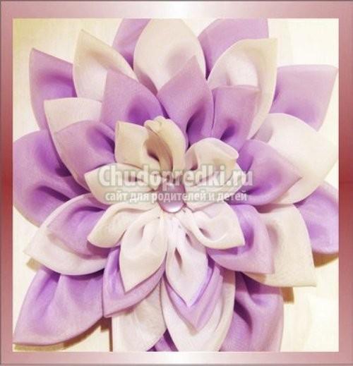 Как сделать цветы из плотной ткани своими руками