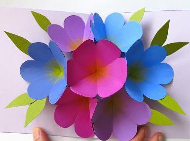 Поделки из цветной бумаги своими руками для детей 4 лет