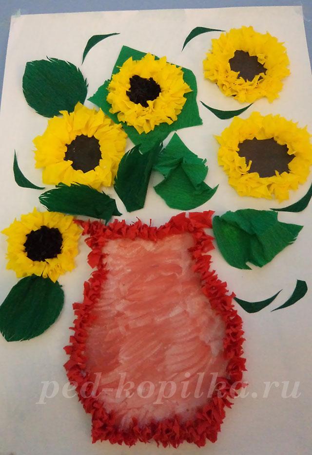 Поделки из цветной гофрированной бумаги 80