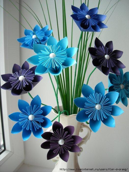 Поделки своими руками из бумаги своими руками цветок