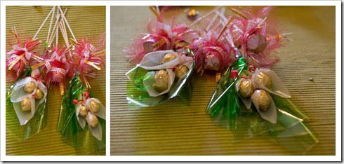 Букеты з конфет своими руками