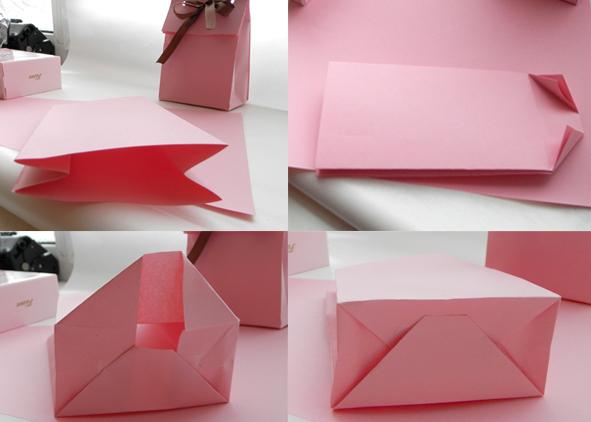 Бумажный пакетик своими руками