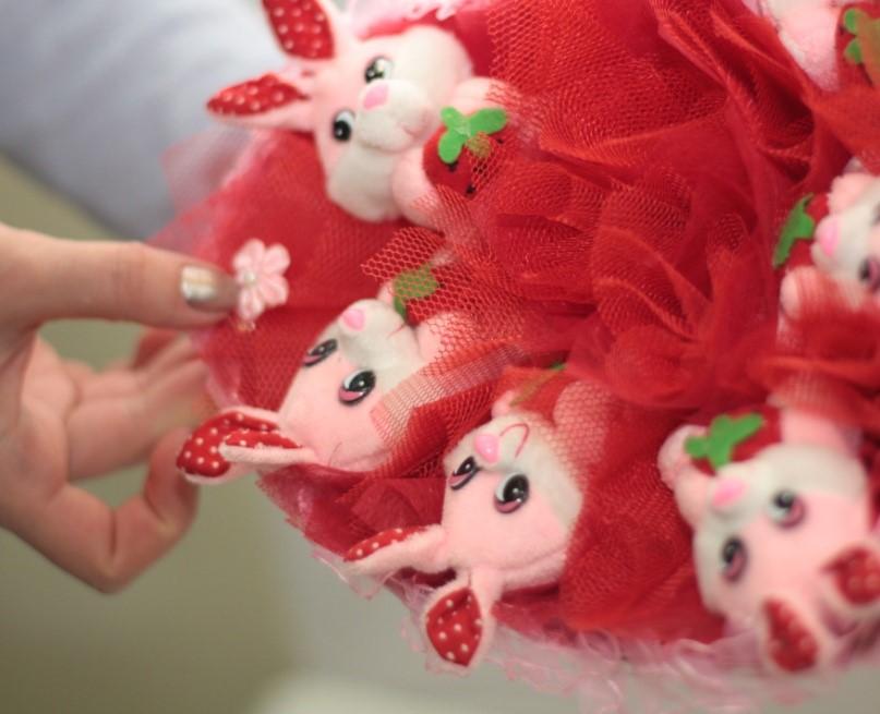 Видео букеты из мягких игрушек для начинающих пошагово
