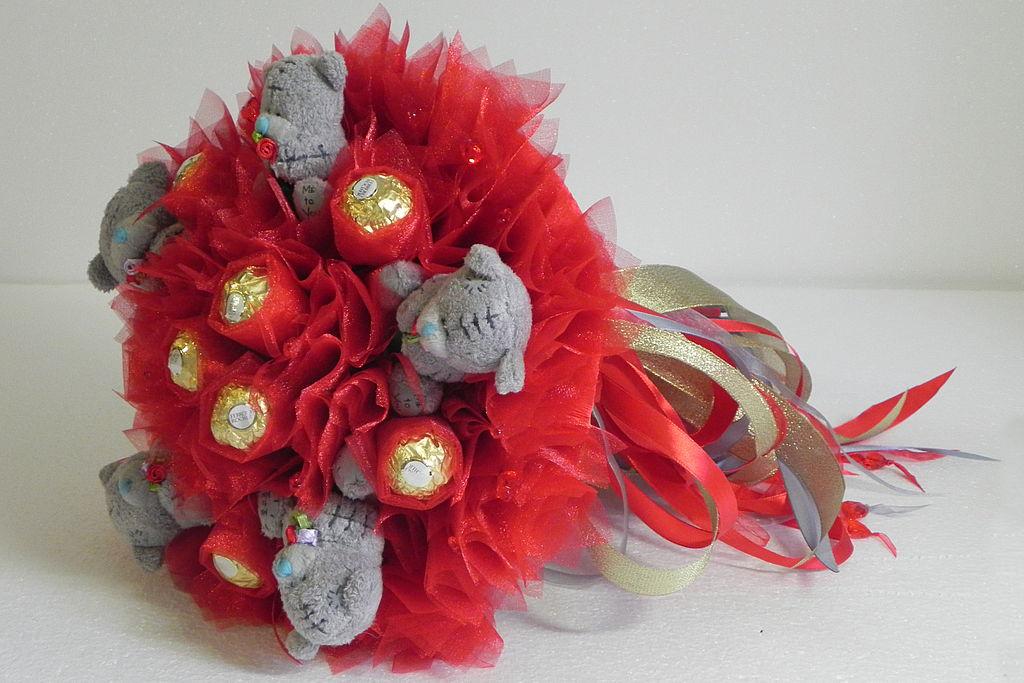 Подарки на свадьбу пошагово