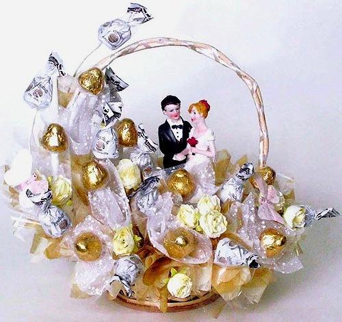 Свадебный букет из конфет своими руками видео