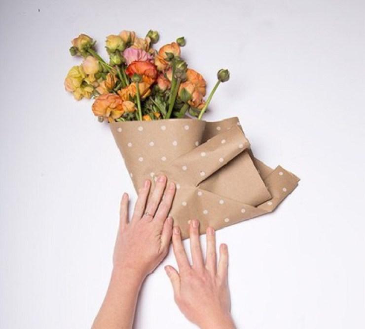 Как сделать красиво упаковку для цветов