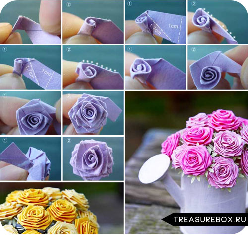 Сделать цветы своими руками ткани
