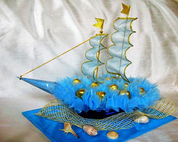 Кораблик своими руками пошаговое фото