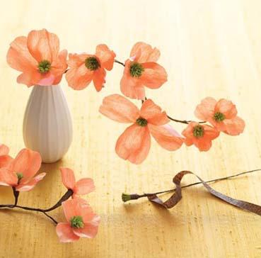 Робин гИз крепированной бумаги своими руками цветы