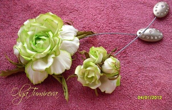Цветы из фоамирана своими руками с пошаговым фото выкройки