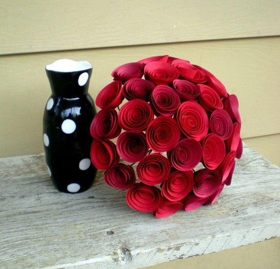 Букеты роз своими руками