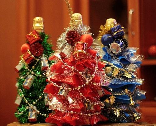 Подарки из конфет своими руками к новому году 2015 - NikeCRM