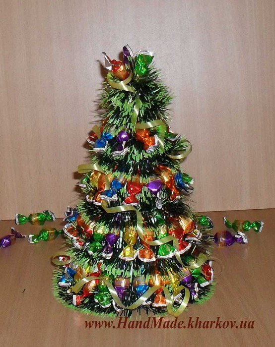 Сувенир елки своими руками