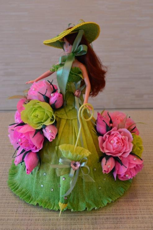 Букет цветов для куклы своими руками