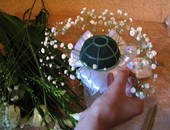 Букет невесты изготовить своими руками