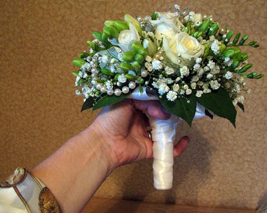Букеты своими руками для невесты