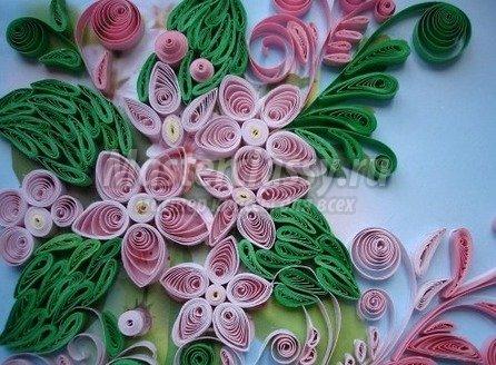 Красивые цветы мастер класс