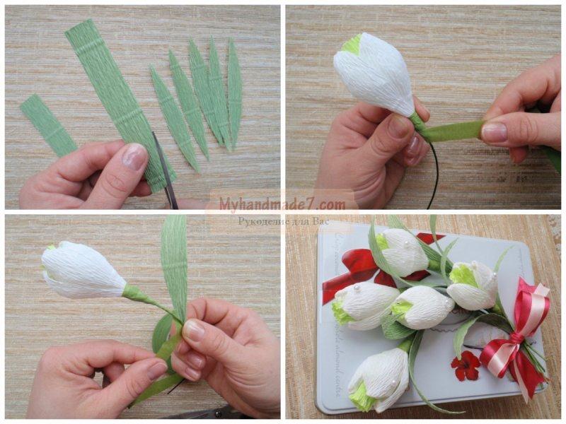 Свадебный букет из пионовидных роз своими руками