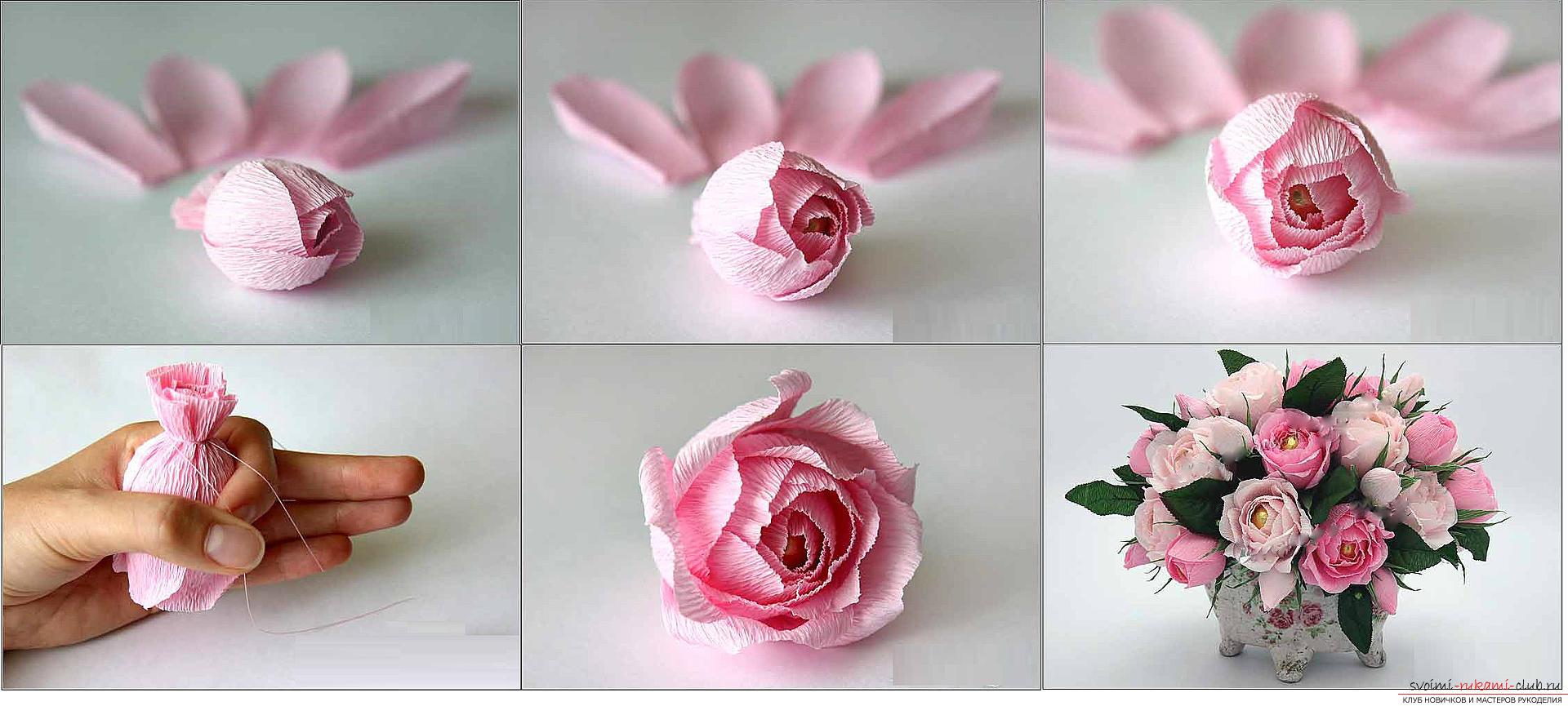Букет из конфет своими руками пошаговое розы