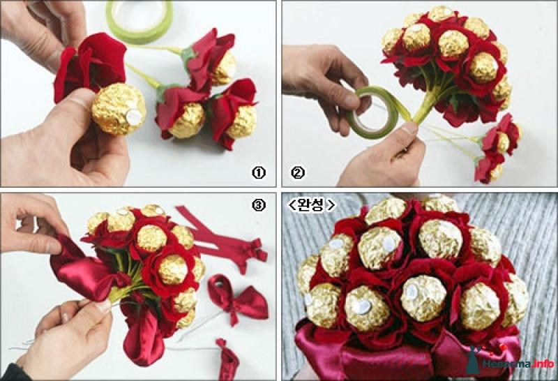 Сделать подарок своими руками из конфет