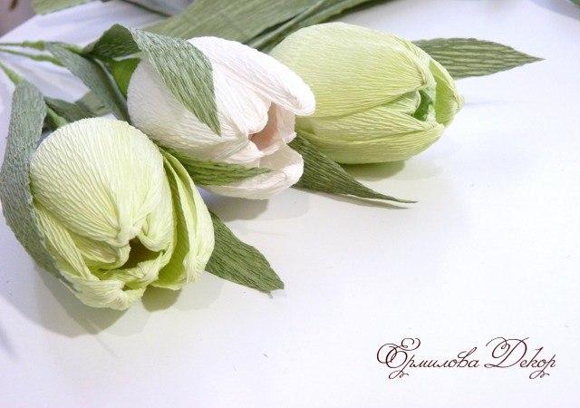 Сделать букет из конфет своими руками тюльпаны