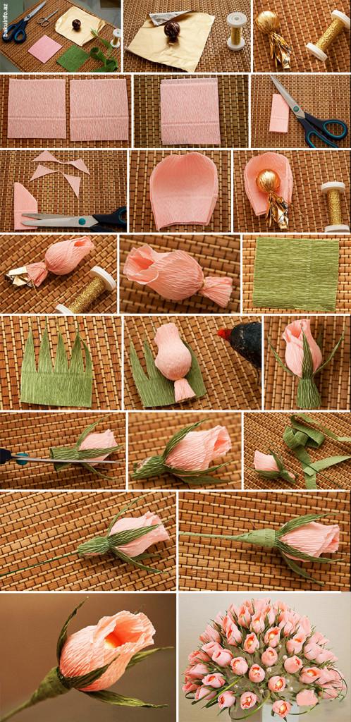 Мастер класс букеты из конфет роза